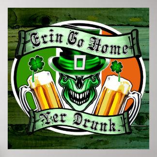 Leprechaun Skull 3: Erin Go Home Yer Drunk Posters