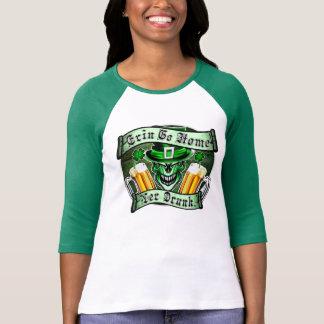 Leprechaun Skull 3: Erin Go Home Yer Drunk T-Shirt