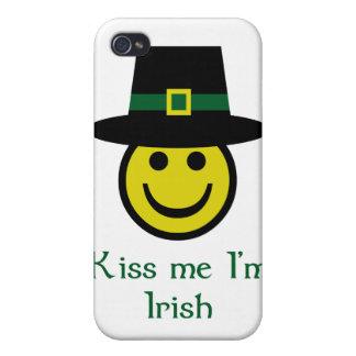 Leprechaun Smiley iPhone 4 Case