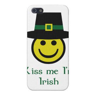 Leprechaun Smiley iPhone SE/5/5s Cover