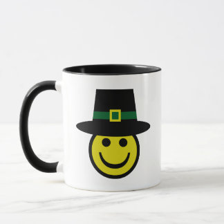 Leprechaun Smiley Mug