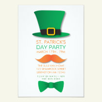 Leprechaun St. Patrick's Day Invitation