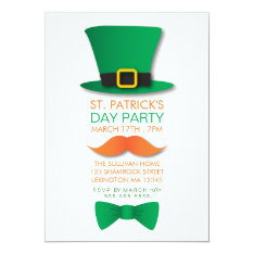 Leprechaun St. Patrick's Day Invitation at Zazzle