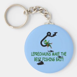 Leprechaun St Patricks day Keychain