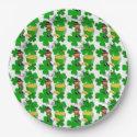 Leprechaun, St. Patrick's Day, Paper Plates 9
