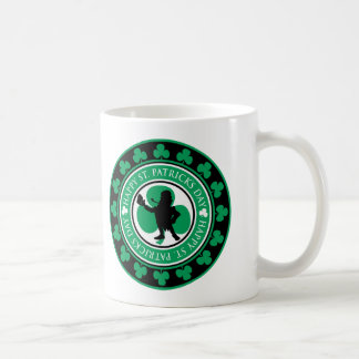 Leprechaun Stamp Coffee Mugs
