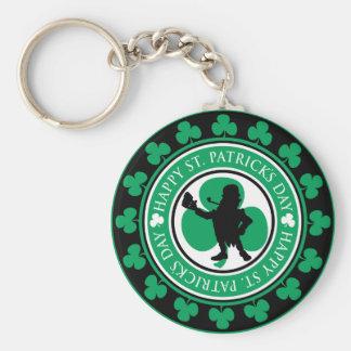 Leprechaun Stamp Key Chain