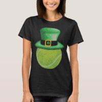 Leprechaun Tennis Ball St Patricks Day T-Shirt