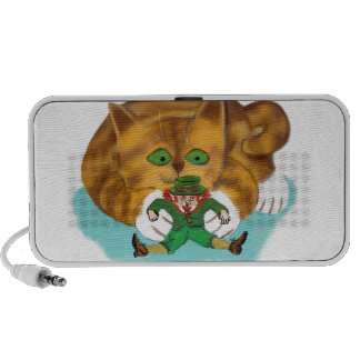 Leprechaun Trapped by a Kitten's Paws Speaker System