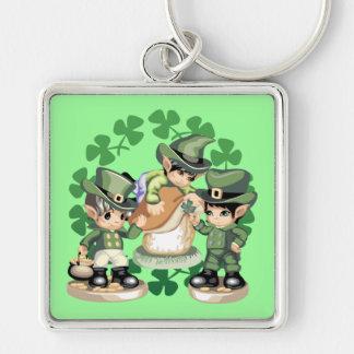 Leprechaun Trio Key Chains