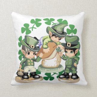 Leprechaun Trio Pillow