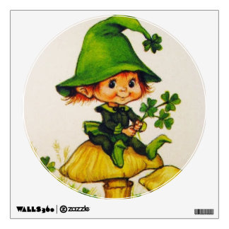Leprechaun Wall Sticker