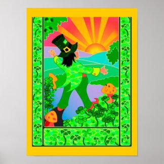 Leprechaun y la salida del sol - poster