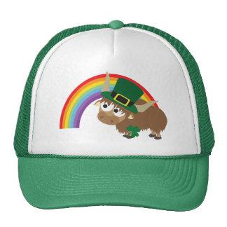 Leprechaun Yak Trucker Hat