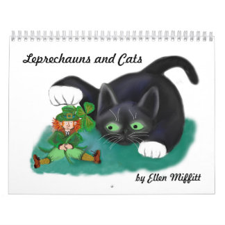 Leprechauns and Cats Calendar