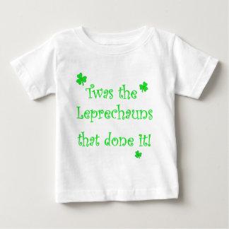 Leprechauns done it! baby T-Shirt
