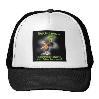 Leprechauns on the Loose! Mesh Hats