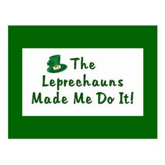 Leprechauns Postcard