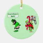 Leprechauns Rule  Irish Ornament