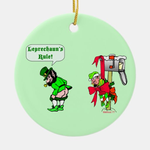 Leprechauns Rule Ornament