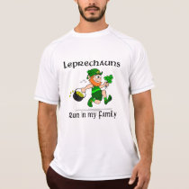 Leprechauns Run in my Family Champion SS T-Shirt