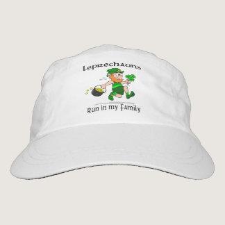 Leprechauns Run in My Family Headsweats Hat
