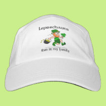 Leprechauns Run in My Family Headsweats Hat