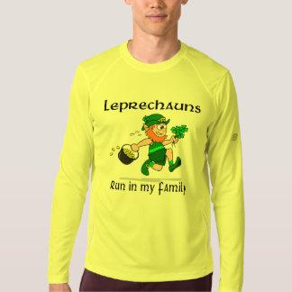 Leprechauns Run in my Family New Balance LS T-shirt