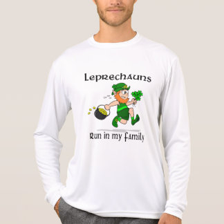 Leprechauns Run in my Family Sport-Tek LS T-Shirt