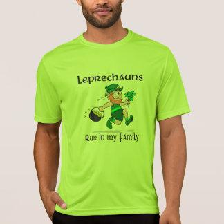 Leprechauns Run in my Family Sport-Tek SS T-Shirt