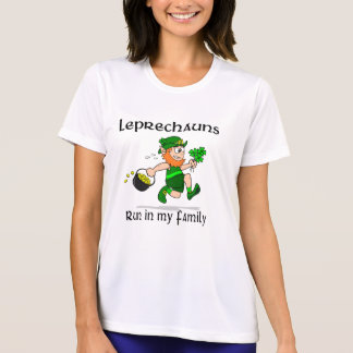 Leprechauns Run in my Family Sport-Tek SS T-Shirt