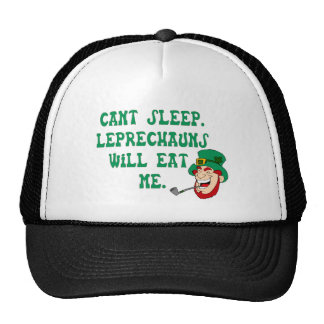 Leprechauns Will Eat Me Hat