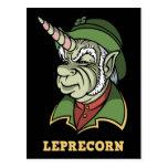 Leprecorn Postcard
