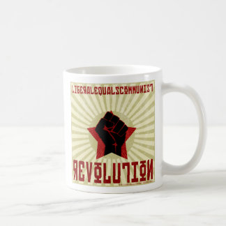 LEQ Revolution Classic White Coffee Mug
