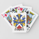 Lerche Family Crest Bicycle Poker Cards