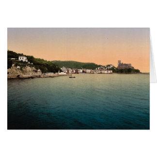Lerici, Spezia, Italy vintage Photochrom Greeting Card