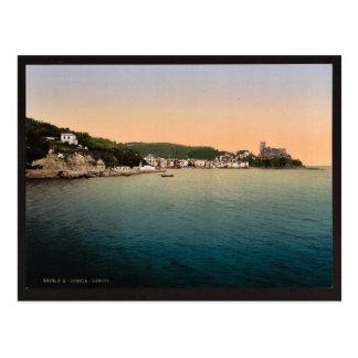 Lerici, Spezia, Italy vintage Photochrom Postcard