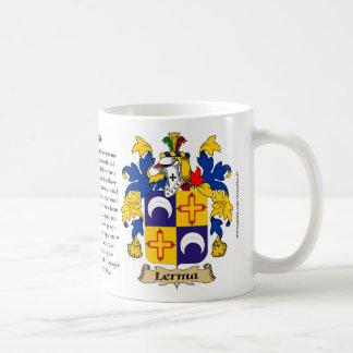 Lerma, el origen, el significado y el escudo taza clásica