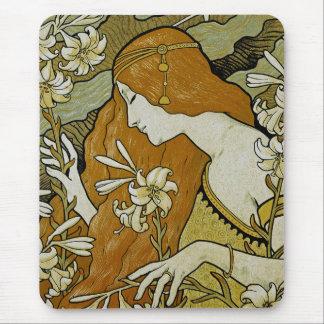 L'Ermitage Art Nouveau Mouse Pad