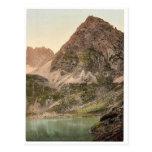 Lermoos, el Drachensee, mag del Tyrol, Austro-Hung Postales