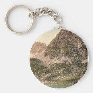 Lermoos, the Drachensee, Tyrol, Austro-Hungary mag Keychains