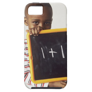 Lernen von Arithmetik. 4-jähriger Junge, der a häl iPhone SE/5/5s Case