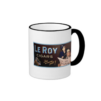 Leroy Cigars Ringer Mug