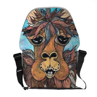 Leroy la bolsa de mensajero de la llama bolsa de mensajeria