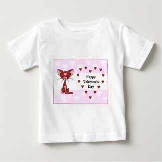 Leroy the Cat - Valentine's Day (Meet the Mews) Baby T-Shirt