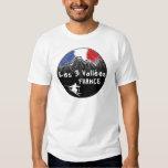 Les 3 Vallées France skier T-Shirt