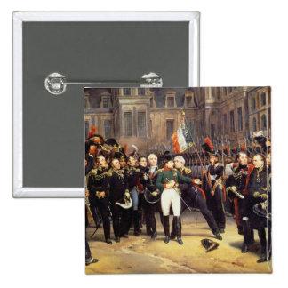 Les Adieux de Fontainebleau, el 20 de abril de 181 Pin Cuadrado