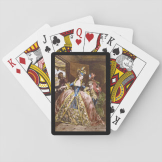 Les Adieux', Jean Michel Moreau_Engravings Playing Cards