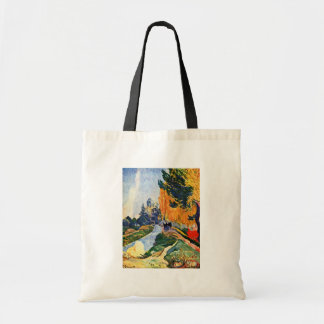 Les Alyscamps By Gauguin Paul Best Quality Canvas Bags