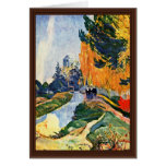 Les Alyscamps By Gauguin Paul (Best Quality) Greeting Card